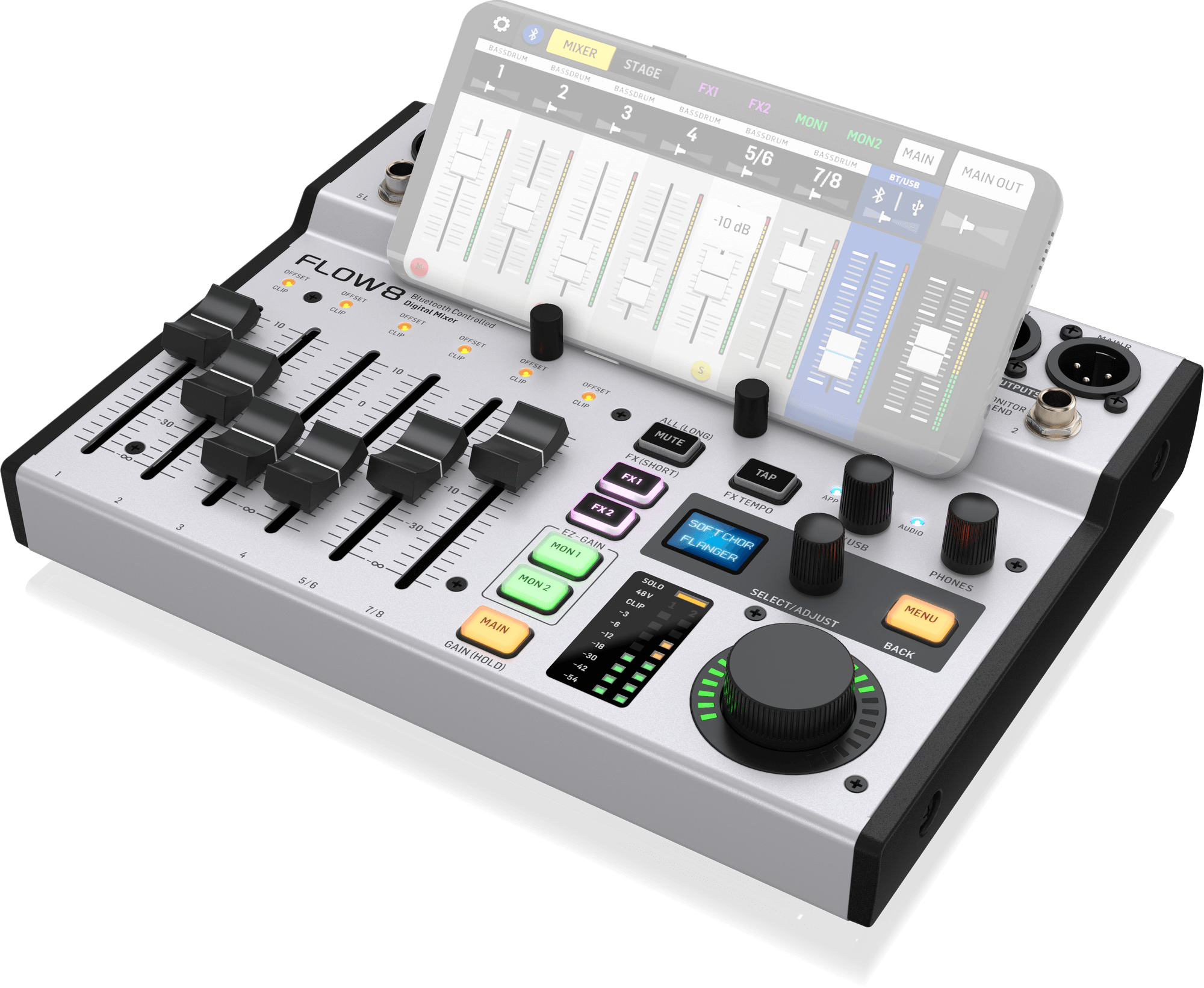 behringer Flow 8 for Clubhouse